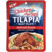 Chicken of the Sea Select Fillets in Marinara Sauce Tilapia