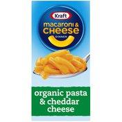 Kraft Original Macaroni & Cheese Dinner with Organic Pasta & Cheddar Cheese