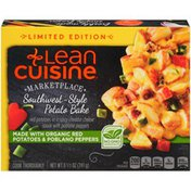 LEAN CUISINE Red potatoes in a spicy cheddar cheese sauce with poblano peppers Southwest-Style Potato Bake