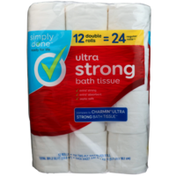 Simply Done Ultra Strong Bath Tissue Double Rolls