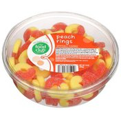Food Club Peach Rings