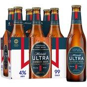 Michelob Ultra Amber Max Light Beer Bottles