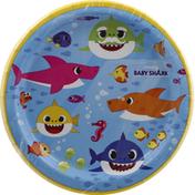 Unique Plates, Baby Shark, 6-3/4 Inch