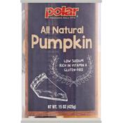 Polar Pumpkin, All Natural