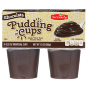 Our Family Chocolate Pudding Cups