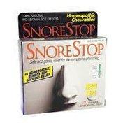 SnoreStop Chewable Tablets
