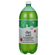 Food Club Wild Mountain, Citrus Flavored Diet Soda