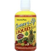 Nature's Plus Multi-Vitamin & Mineral Supplement, Delicious Tropical Fruit Flavor, Liquid