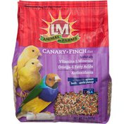 LM Animal Farms Canary & Finch Diet Fortified With Vitamins & Minerals,Omega-6 Fatty Acids Antioxidants Bird Food