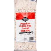 First Street Wet Mop, Fantail, Cotton No. 32