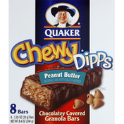 Quaker Chewy Dipps Chocolatey Covered Peanut Butter Granola Bars