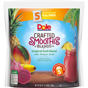 Dole Crafted Smoothie Blends Tropical Fruit Blend with Dragon Fruit