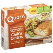 Quorn Chik'n Cutlets, Jalapeno and Three Cheese Stuffed, Meatless & Soy Free, Box