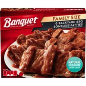 Banquet Family Size Backyard BBQ Boneless Patties