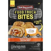Hot Pockets Food Truck Bites, Triple Cheesy Bacon Melt