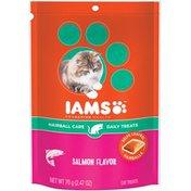 IAMS ProActive Health Hairball Care Salmon Flavor Cat Treats