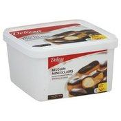 Delizza Eclairs, Belgian, Mini, Value Pack