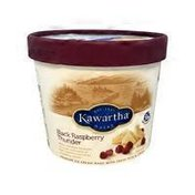Kawartha Dairy Black Raspberry Thunder Ice Cream
