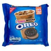 Oreo Cookies Dunkin' Donuts Mocha