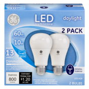 GE LED 60W Replacement Bulbs Daylight