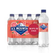 Ice mountain Sparkling Water, Ruby Red Grapefruit