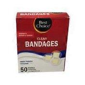Best Choice Clear Spot Bandages