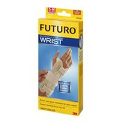 FUTURO Wrist Stabilizer, Deluxe, Right Hand, Firm Stabilizing Support, S-M