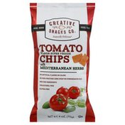 Creative Snacks Co. Tomato Chips, with Mediterranean Herbs