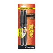 Pilot Frixion Ball Fine 07Mm Black Gel Ink