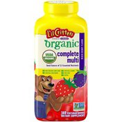 L'il Critters Organic Mixed Berry Flavor Complete Multi L'il Critters Organic Mixed Berry Flavor Complete Multi Dietary Supplement