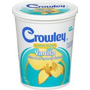 Crowley Low Fat Vanilla Yogurt