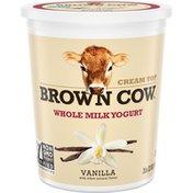 Brown Cow® Cream Top Vanilla Whole Milk Yogurt