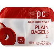 PICS Plain Bagels