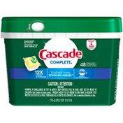 Cascade Complete Lemon Scent ActionPacs Dishwasher Detergent