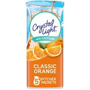 Crystal Light Classic Orange Naturally Flavored Powdered Drink Mix