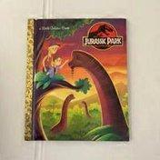 Golden Books Little Golden Book Jurassic Park Hardcover