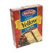 Key Food Quality Deluxe Yellow Cake Mix