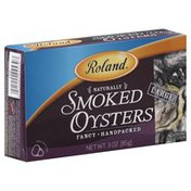Roland Oysters, Naturally Smoked, Large