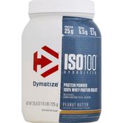 Dymatize Protein Powder, Peanut Butter, ISO100 Hydrolyzed