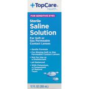 TopCare Saline Solution, Sterile
