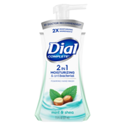 Dial Complete 2 in 1 Moisturizing & Antibacterial Foaming Hand Wash, Mint & Shea Butter