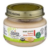 Nature's Promise Organic Baby Food Turkey with Gravy 6m+