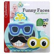 Infantino Bath Mirror, Funny Faces