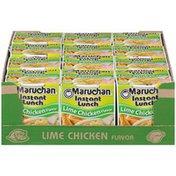Maruchan Lime Chicken Flavor Ramen Noodle Soup