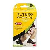FUTURO Revitalizing Dress Socks for Men Moderate Medium/Black