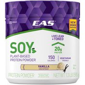 EAS Vanilla Soy Plant-Based EAS Soy Plant-Based Protein Powder Vanilla Powder Canister
