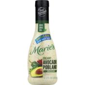Marie's Dressing Creamy Avocado Poblano