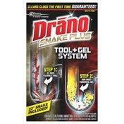 Drano Tool + Gel System