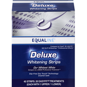Equaline Whitening Strips, Deluxe