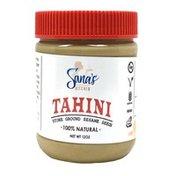 Sana's Kitchen Tahini Organic Non-GMO Stone Ground Sesame Seed Butter